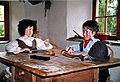 Heidi und Geissenpeter im Heidihaus in Maienfeld (Graubunden).jpg