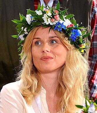 Helena af Sandeberg - af Sandeberg at Sveriges Radio's Sommar i P1 in 2013.