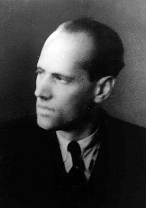 Kreisau Circle - Helmuth James Graf von Moltke, founder of the Kreisau Circle