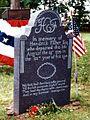 Hendrick Fisher gravestone, Franklin Township, NJ.jpg