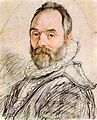 Hendrick Goltzius - Portrait of Sculptor Giambologna - WGA09725.jpg