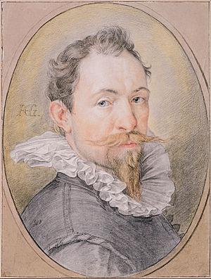 Hendrik Goltzius - Image: Hendrick Goltzius Self Portrait, c. 1593 1594 Google Art Project