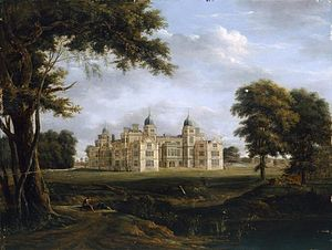 Charlton Park, Wiltshire - Charlton park from the west, c.1800, Hendrik Frans de Cort