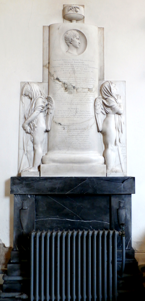 John Parker, 1st Earl of Morley - Monument by Delaistre to Henry Parker, Viscount Boringdon (1806-1817), St Mary's Church, Plympton