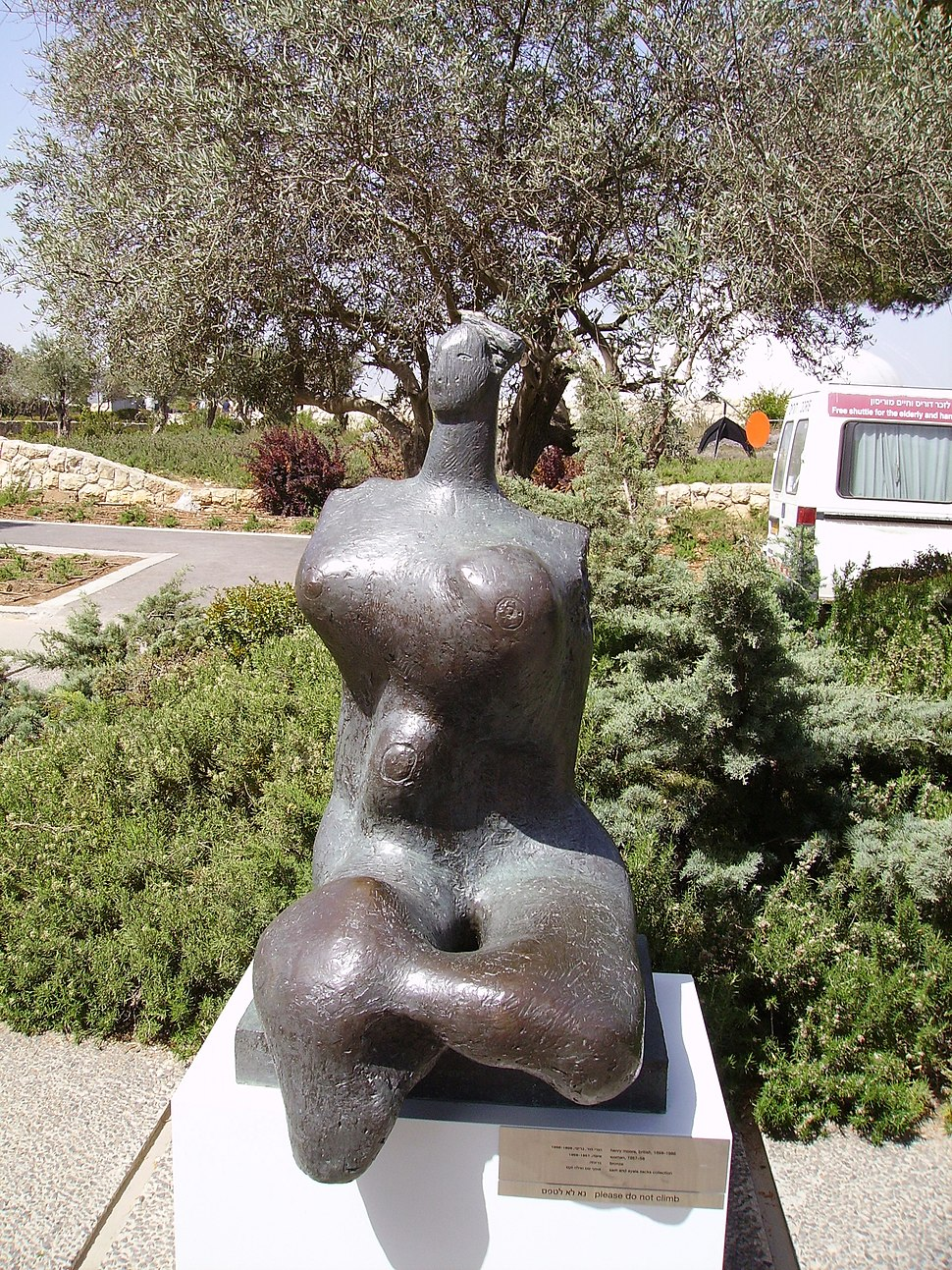 Henry Moore-A Woman-Israel Museum