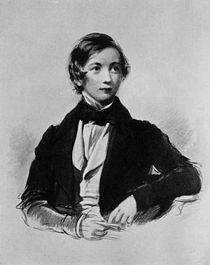Herbert Coleridge - Herbert at the age of 17