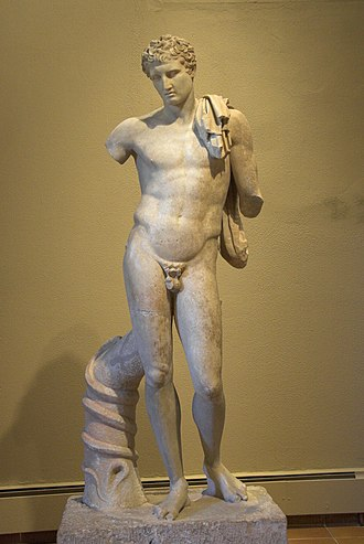 Andros - Statue of Hermes Chthonios (Roman copy of 1st AD), Archaeological Museum of Andros