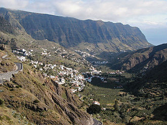 Hermigua - Landscape of Hermigua