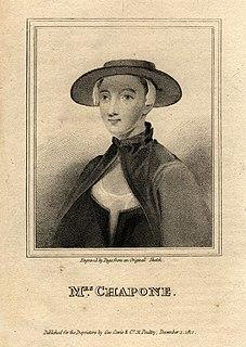 Hester Chapone British writer