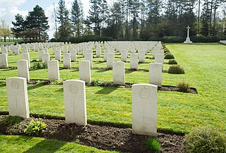 Heverlee - Image: Heverlee War Cemetery 5
