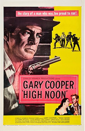 Description de l'image High Noon (1952 poster).jpg.