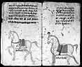 Hindi Manuscript 191, fols. 19 verso, 20 recto Wellcome L0024212.jpg