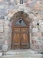 Historic church in Zieleniewo, Poland - church portal.jpg