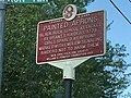Historic marker on Neversink Drive re Indian raid 1779 re Painted Aprons.jpg