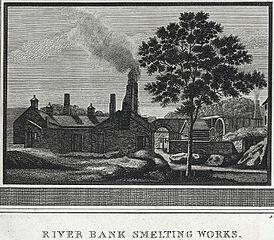 History of Holywell Parish, River bank smelting works