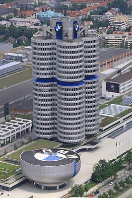 Hochhaus 'BMW Vierzylinder'. München.