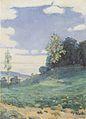 Hodler - Landschaft mit zwei kleinen Bäumen - 1893-95.jpeg