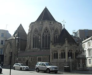 Samuel Sanders Teulon - Holy Trinity parish church in Hastings, East Sussex