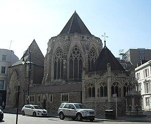 Samuel Sanders Teulon - Holy Trinity parish church in Hastings, East Sussex