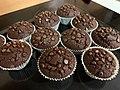 Homemade baked chocolate muffins.jpeg