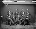 Hon. George H. Pendleton, Ohio., Hon. William A. Richardson, Ill., Clement L. Vallandigham, Ohio., Hon. Daniel... - NARA - 525690.tif