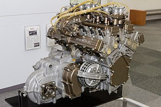 Honda RA271 - Engine and transaxle