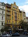 Hotel Evropa (Nové Město), Praha 1, Václavské nám. 826, Nové Město.JPG