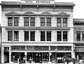 Hotel metropole 1908, East elevation new building.jpg