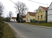 Hromnice, Žichlice, old houses.jpg