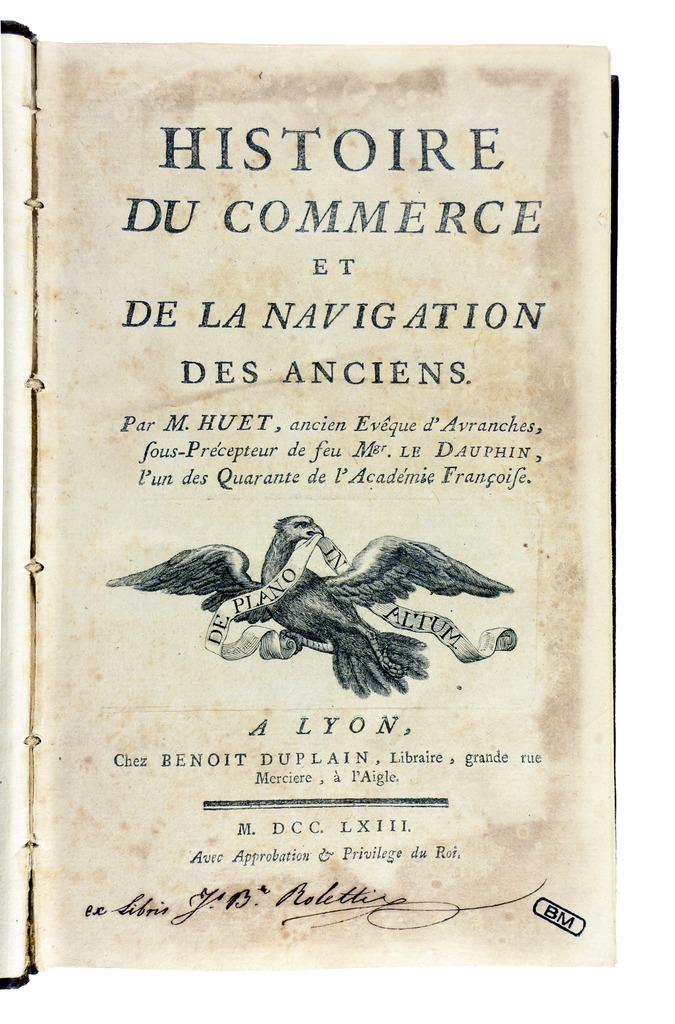 Datei huet histoire du commerce 1763 wikipedia Histoire des jardins wikipedia