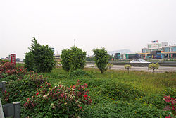 Guangzhou–Huizhou Expressway in the county