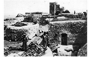 Hulayqat Place in Gaza, Mandatory Palestine