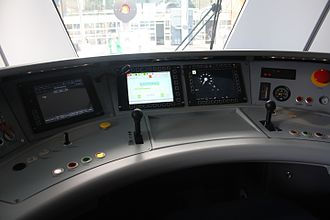 SL X60 - The driving cab of the X60B is equipped with ERTMS/ETCS, which is to be installed on the X60/X60A