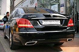 Lexus Ls 500 >> Hyundai Equus - Wikipedia