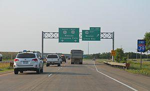 Interstate 39 - Northern terminus at WIS 29