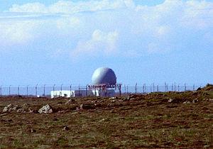 Iceland Air Defence System - Iceland Air Defence System Radar Site.