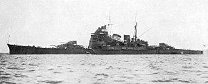 Takao-class cruiser - Image: IJN Heavy Cruiser Takao