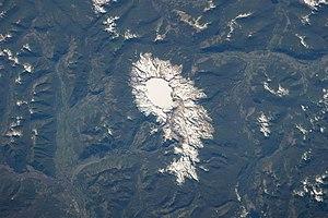 Sollipulli - Image: ISS 38 Sollipulli Caldera