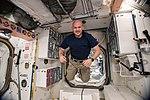 ISS-56 Alexander Gerst floats inside the Unity module.jpg