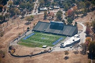Memorial Stadium (Terre Haute) - Image: ISU Memorial Stadium