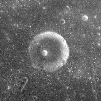 Ibn Battuta (crater) - Apollo 15 image