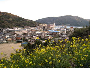 Ikata - The Minatoura neighborhood