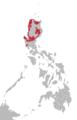 Ilokano language map.png