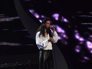 Lithuania in the Eurovision Song Contest - Image: Image ESC 2008 Lithuania Jeronimas Milius, 2nd semifinal