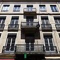 Immeuble de négociants 11, rue de la république saint etienne vue balcons 4.JPG