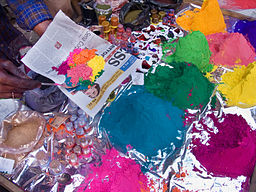 India - Color Powder stalls - 7266