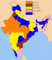 Indian states by bjp.png