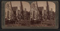 Indian village of Klinkwan - modern natives, and totem poles of old Hydahs, Alaska, from Robert N. Dennis collection of stereoscopic views.png