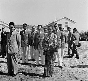 Indonesia at the 1952 Summer Olympics - Indonesian Olympic team 1952