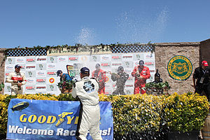 Formula Car Challenge - FCC podium celebration